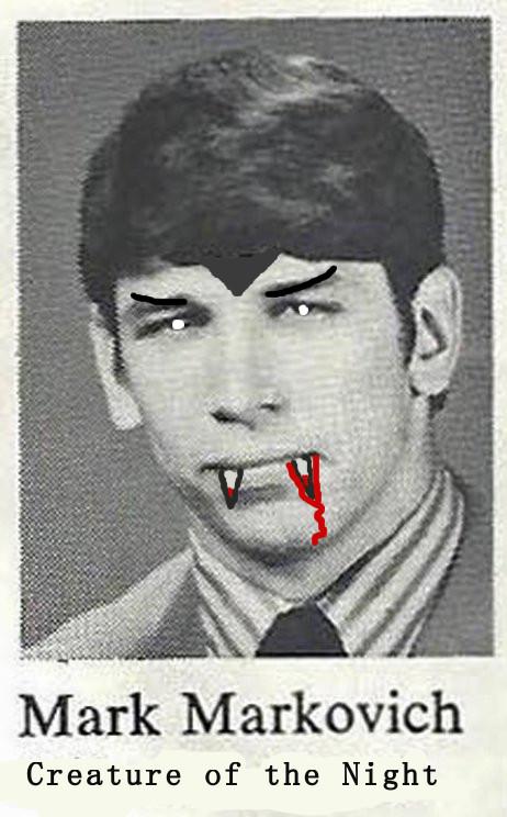 Markovich of the Dead!