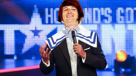 Harry Merry on Holland Got Talent