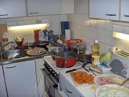 a random look in someone's kitchen