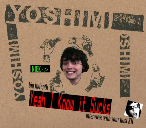 Welcome! Welcome! At this fabulous indepth interview with Yoshimi aka Niek Hilkman! hosted by your critical host KN! come in and be welcome!
