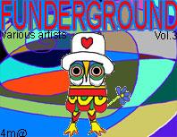 Funderground vol.3 ca: 4m@109 artists: microbit proec, kai nobuko, pollux, toxic chicken