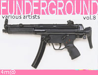 Funderground vol.8 cat: 4m@125 artists: mozarts filth, kai nobuko, skinhead o connor, lo fi rave busters, chorles monson, covolux, ufo666, toxic chicken