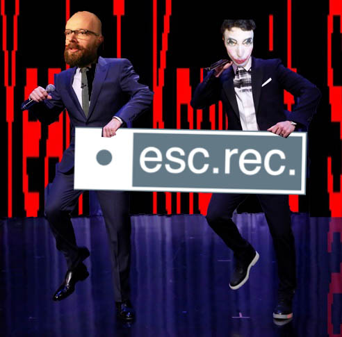 KN & Esc.rec owner and deejay Harco Rutgers check out the link and do their own Esc.rec. dance