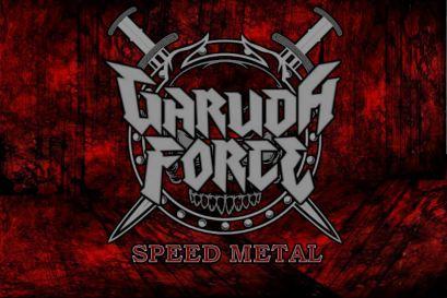 the logo of GARUDA FORCE