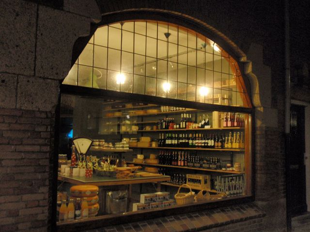 ^ Old fashioned cheese store in Tilburg