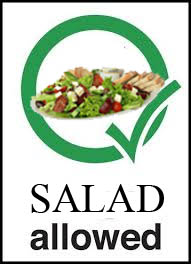^ Djanan Turan will makes sure VIP's will be allowed to bring their own salads