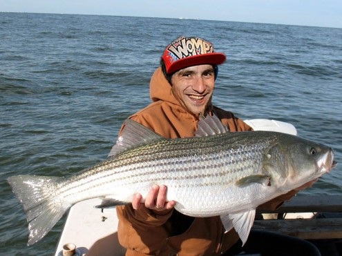 ^ this is a picture of Sam holding a Bass