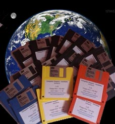 The Floppy Disks released by Floppy Kick are invading this beautifull earth