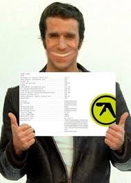 ^ The Fonz aproves this album