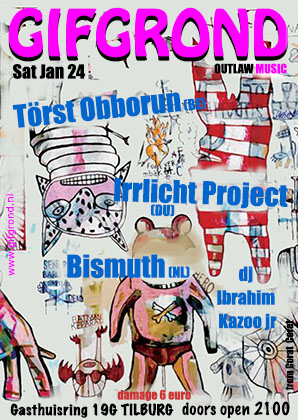 ^ the flyer for next Gifgrond with one of the main headliners; irrlicht project