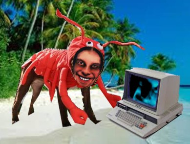..if Aphex Twin was a lobster...