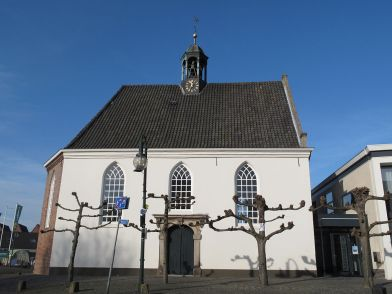^ the church in Lobith which once was filled with the drone ambient of the France artist named Pollux