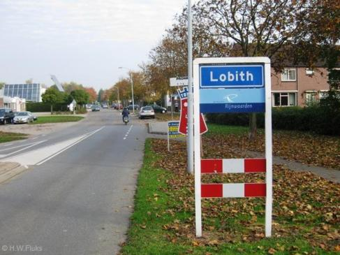 ^ the welcoming sign that you will see when entering Lobith