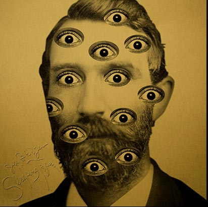 ^ Let the cover art for The Dude (aka Jeff Bridges) 's hyped up drone album lull you into its many eyes