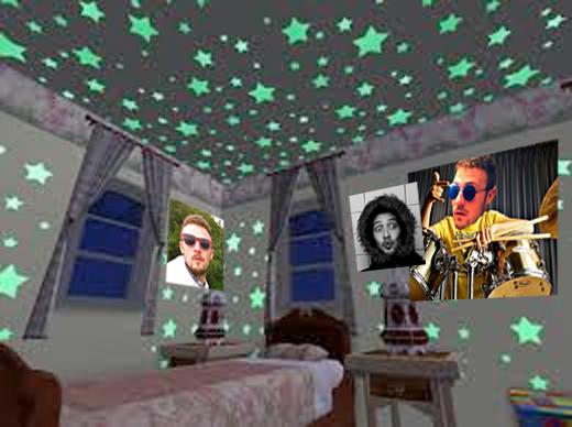 a little look inside my teenage bedroom