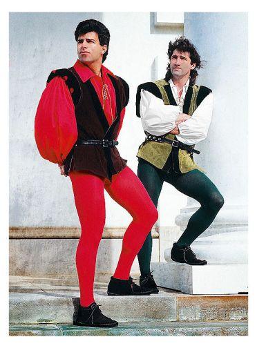 ^ men in tights