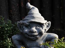^ a poor garden gnome