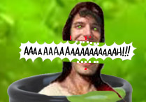 a scream