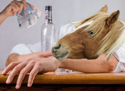 ^ Professionally drunk…