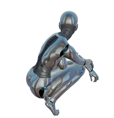 ^ did this cyborg just farted?