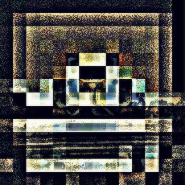 If you've ever played Tetris... not once, but maybe for hours on end... for like, several years... you might have had some pretty severe nightmares that looked a lot like the album art for impleMENTAL ALIENoise (Unearthly 23SOTV9), by TOTAL E.T.