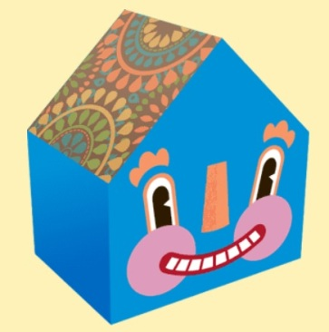 ^ not Mike's Gingerbread house, but one of the DIY Twink Happy houses that you can download and print & build yourself! Nobody should be without a happy house thanks to Twink! (click, click)