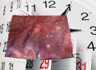 Shorts space in time