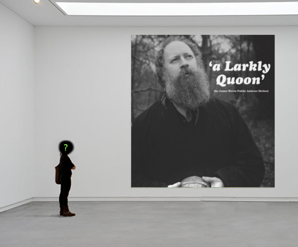 The album art for A Larkly Quoon features a beard and its owner among forest in stark greyscale, a fitting scene in which to hear some proper English nonsense!