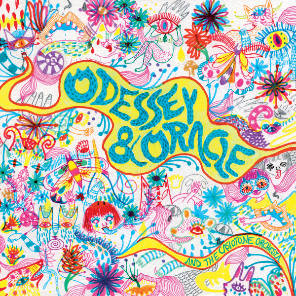 Perusing the album art for Odessey And Oracle And The Casiotone Orchestra is probably not a great idea if you don't want to accidentally find yourself bemused, uplifted and a little giddy with appreciation over the humor of the artists' delightfully quirky doodles. Hold fast to your curmudgeonly ways, you beautiful internet poopers.