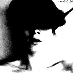 In stark, high-contrast black and white, we see the image of a figure's face, obscured... by a hat, possibly, or maybe it's a black cat, perched on their head. I do not know. But, this is the cover of Demons That Drove's self-titled work, and N-J debut.