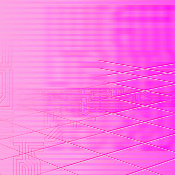 The album art for Ethrelite's ⎔ DIGITAL_DREAM_ESCAPE ⎔ is one of the most pink things I've ever seen in my life. It's very, very pink, and it's incredible.