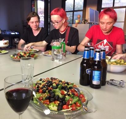 Toxic Dinner of Marcelle + Hans